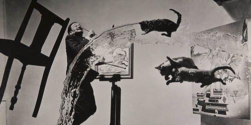 Halsman y Dalí: ideas fotográficas