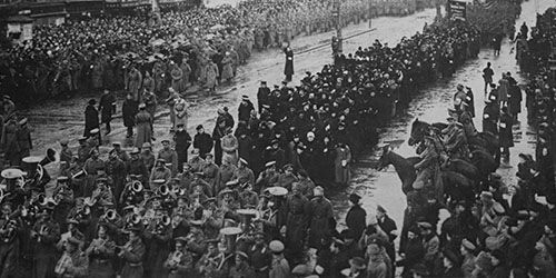 La Revolución rusa (1)