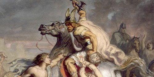 El bárbaro y las cabezas cortadas